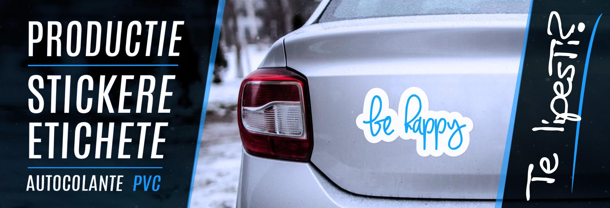 Productie autocolant si stikere decor auto