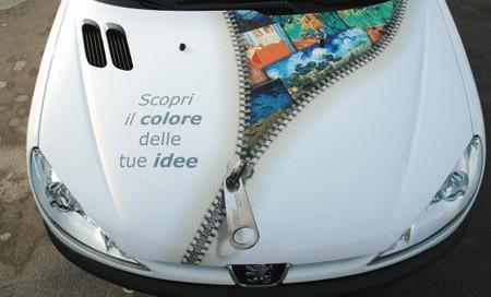 Stickere autocolante PVC decor auto