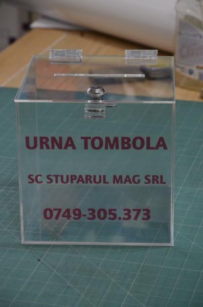 urna PVC tombola