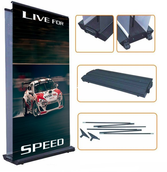 Roll-up display EASY RS 15L