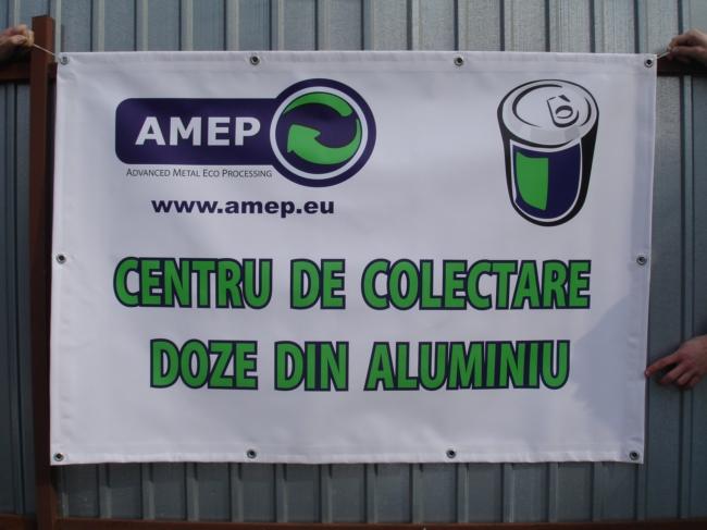 Banner Centru Colectare Amep