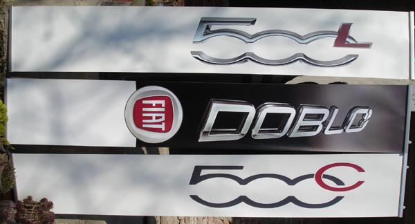 Print banner publicitar si reclame auto