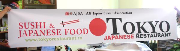 Banner publicitar exterior, productie si creatie publicitara