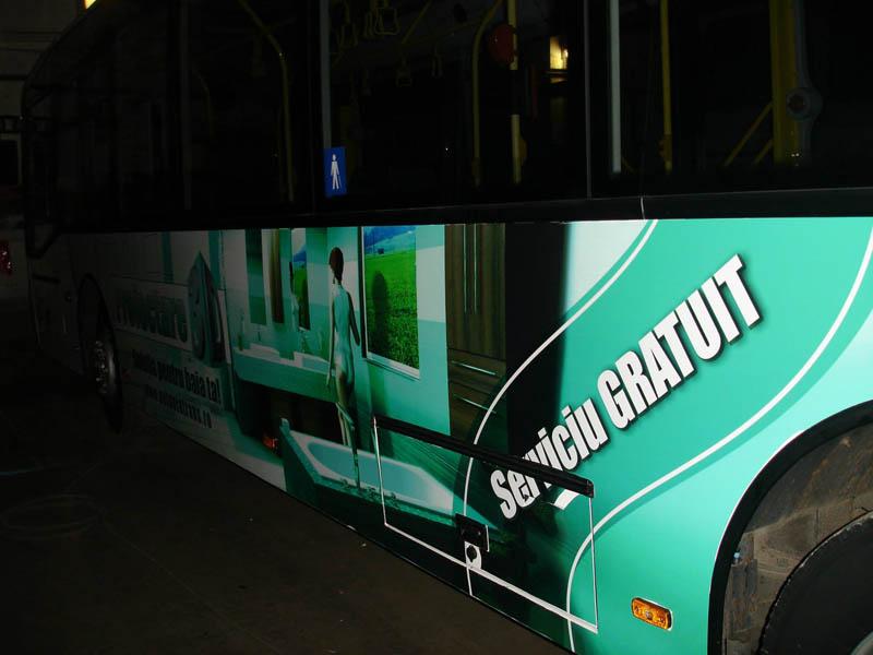 Autocolant pentru autobuze