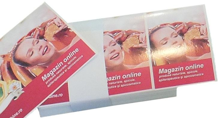 Productie publicitara etichete autocolante