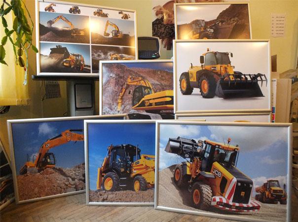Print tablouri hartie foto cu rama foto din aluminiu