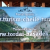 Banner frontlit publicitar de exterior Cheile Turzii