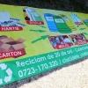 Bannere publicitare de exterior reciclare