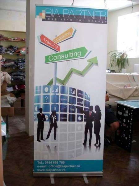Roll-up display 85x200 simplu