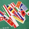Print stickere cu decupare pe contur steag