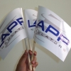 Print stickere cu decupare pe contur steagulete LAPP